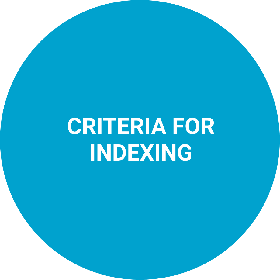 Criteria for indexing