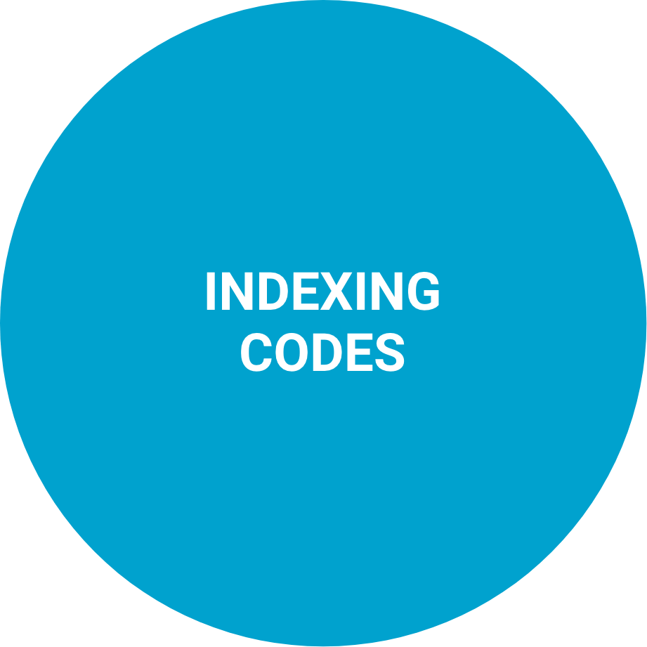 Indexing codes
